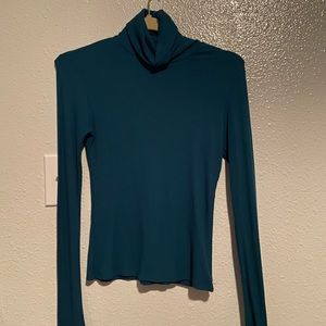 American apparel ribbed turtleneck size small